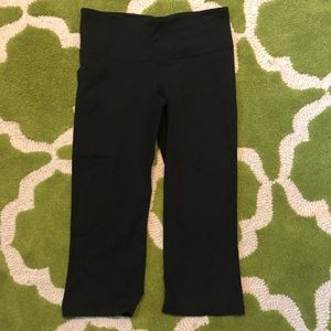 Lululemon Capri flared leggings